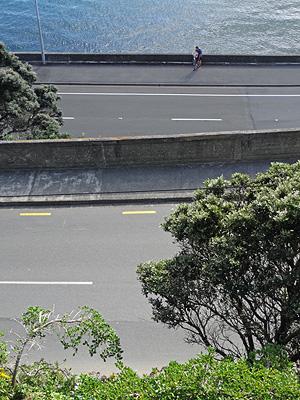 Oriental Parade - Carlton Gore Road - Roseneath - Wellington - New Zealand - 26 April 2014 - 12:25