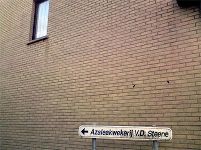 Irgendwo hinter Gent.