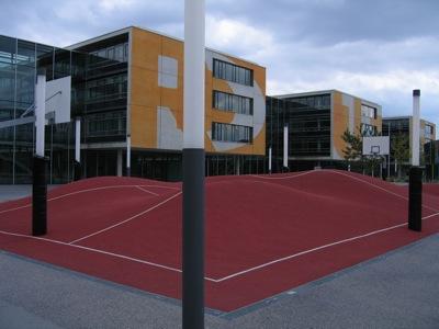 Basketballplatz vom Feinsten
