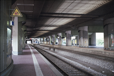 Bahnhof mit Bunkercharme