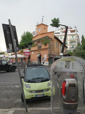 piazzale di ponte milvio, roma