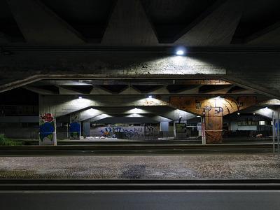 sotto cavalcavia Eugenio Bussa, Milano