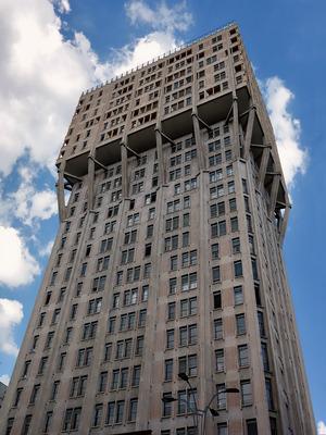 B.B.P.R.: Torre velasca, 1957