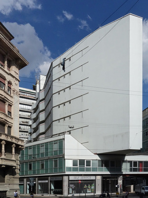 Luigi Moretti: Palazzo Corso Italia, 1949 - 55