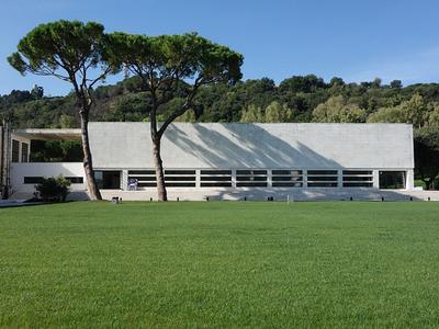 Luigi W. Moretti, Accademia della scherma, Foro Italico, Roma 1936