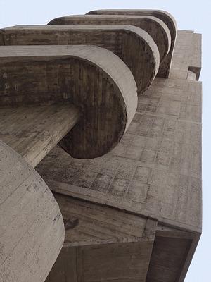 Le Corbusier: Cite radieuse, Marseille 1955