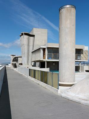 Le Corbusier: Cité radieuse, Marseille 1955