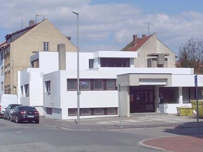 ehemaliges gemeindezentrum der andreas gemeinde hildesheim (1974)