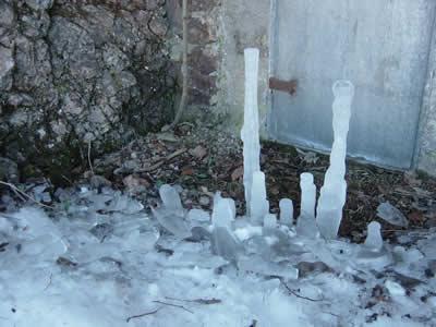 Eisstalagmit Nr.2 (Gaisberg auch in .at)