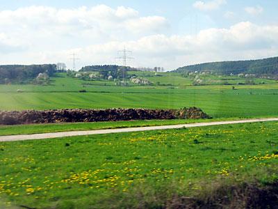 irgendwo zwischen Thüringen und Bayern