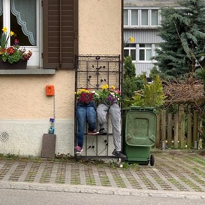 lustige Ideen für den Garten...