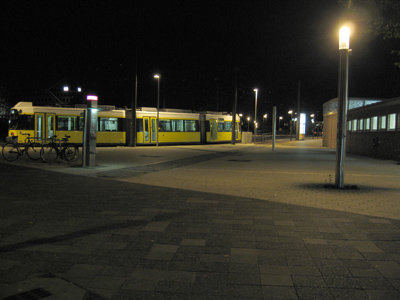 M10 am Nordbahnhof