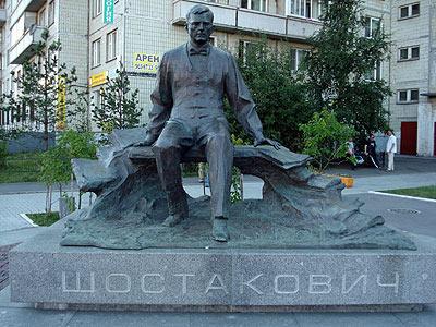 Schostakowitsch-Denkmal