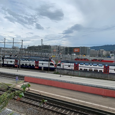 Zurich, train spotting