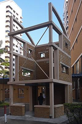 Folly next to Block 529A - Jelapang Road - Singapore - 4 May 2008 - 8:44