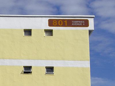 Block 801 - Tampines Avenue 4 - Singapore - 30 December 2008 - 10:31