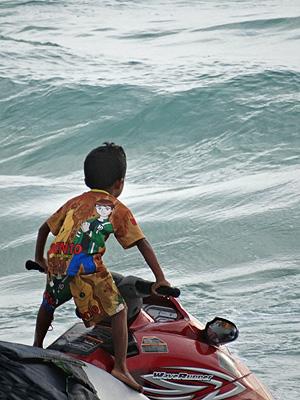 Kata Beach - Phuket - Thailand - 31 August 2013 - 17:20