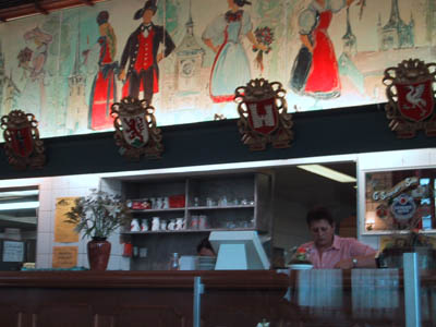 fribourg - buffet de la gare