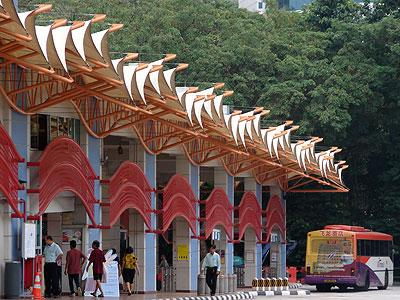 Bukit Merah Bus Interchange - Singapore - 8 November 2006 - 11:35