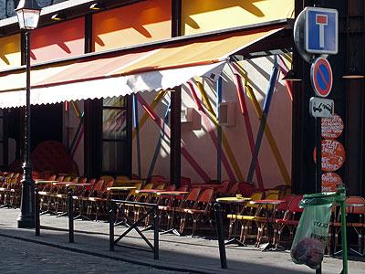 Imp. de la Gaite x Rue de la Gaite - Montparnasse - Paris - 16 April 2012 - 9:20