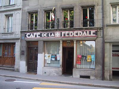 cafe de la federale