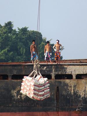 Chao Phraya - Bang Kho Laem - Bangkok - 5 October 2011 - 7:24