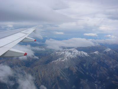 Christchurch, Landing