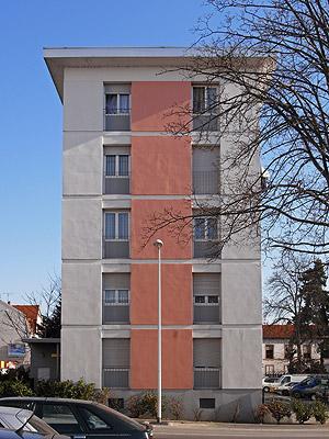 10 Rue de la 1ere Armee Francaise - Colmar - 21 March 2009 - 11:05