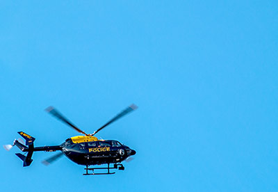 Metropolitan Police Helicopter