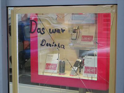 Daniela war's