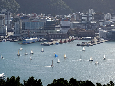 Downtown - Wellington - New Zealand - 26 April 2014 - 13:08