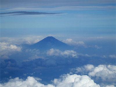 Der Berg Fuji