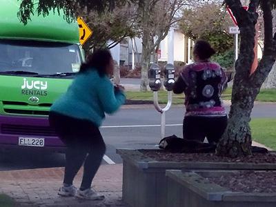 Arawa Street - Rotorua - New Zealand - 12 August 2014 - 18:46