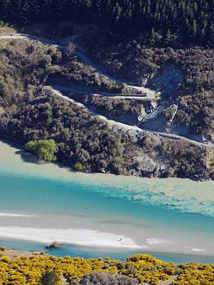 Kawarau River - Lake Hayes Estate - Queenstown - New Zealand - 5 October 2015 - 10:57