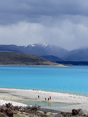 Lake Pukaki - New Zealand - 1 October 2015 - 15:40