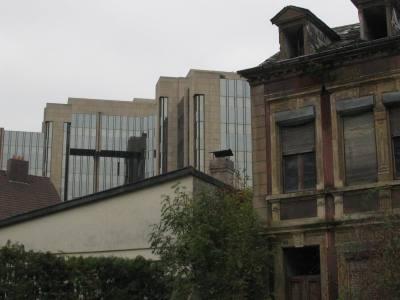 Rue de la Vallée, Ecke Rue de la Semois. Blick auf das Gebäude der BIL/Dexia