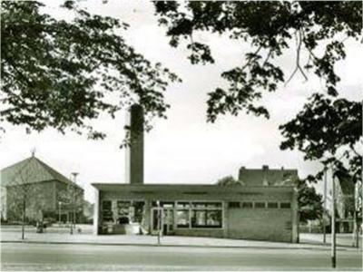 Schwerin - der Neuroder Platz 1967...