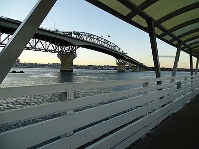 Northcote Point Ferry Wharf - Auckland - New Zealand - 28 January 2015 - 6:43