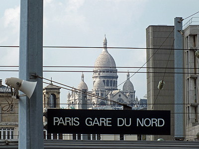 Gare du Nord - Paris - 14 April 2012