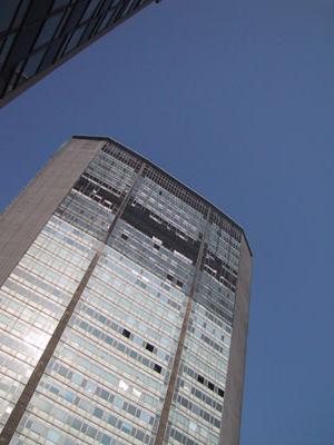 katastrophentourismus: pirelli-tower, milano (09.2002)