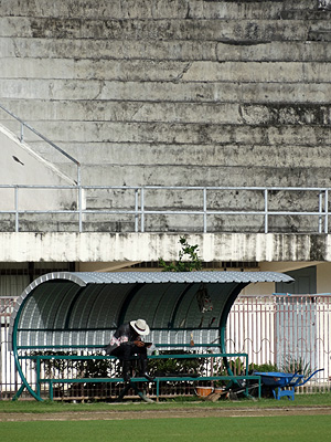 Saphan Hin Soccer Stadium - Phuket - Thailand - 13 October 2013 - 7:50