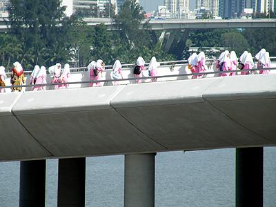 Marina Barrage - Marina Gardens Drive - Singapore - 12 January 2008 - 10:25