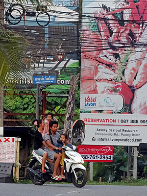 Pasak-Koktanod Road x Laguna Road - Cherng Talay - Thalang - Phuket - 30 October 2013 - 18:02