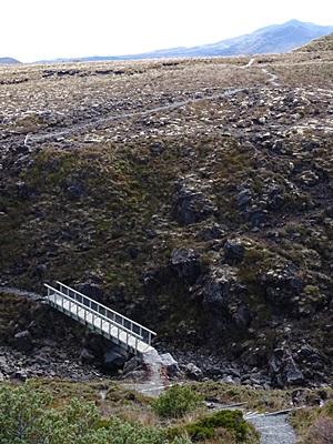 Silica Rapids Walk - Whakapapa - New Zwaland - 10 March 2015 - 10:53