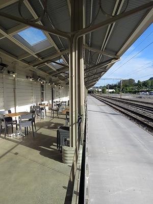 Railway Station - Te Kuiti - New Zealand - 14 January 2017 - 18:40