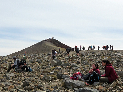Summit - Tongariro Alpine Crossing - New Zealand - 14 January 2017 - 11:02