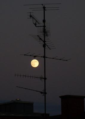 Super Mond, gestern