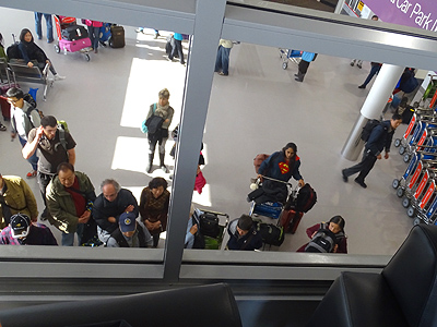 Auckland International Airport - New Zealand - 1 May 2015 - 13:24