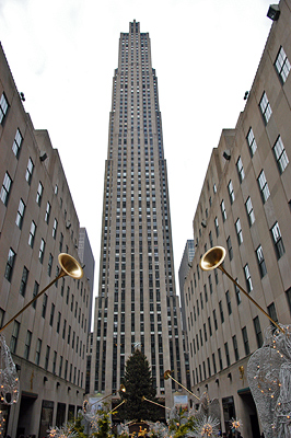 Rockefeller Center December 2008