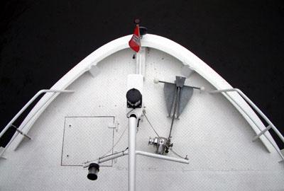 Boot aus Schleuse